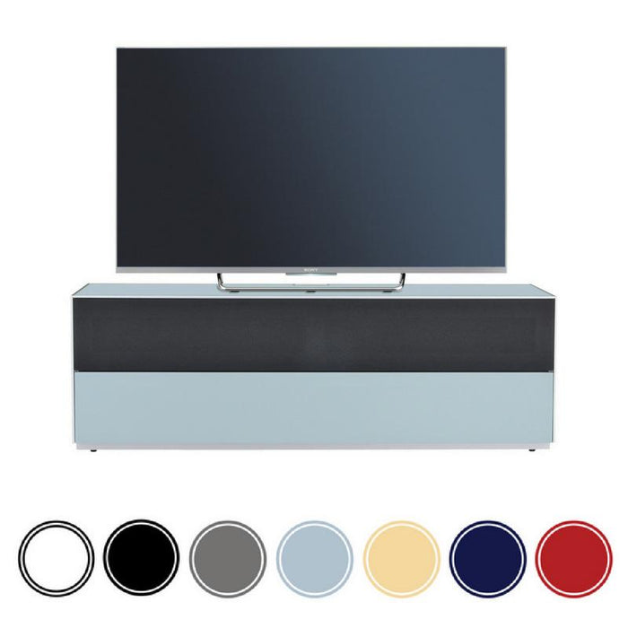 Optimum Project 1300FG Enclosed TV Cabinet with Half Fabric Front
