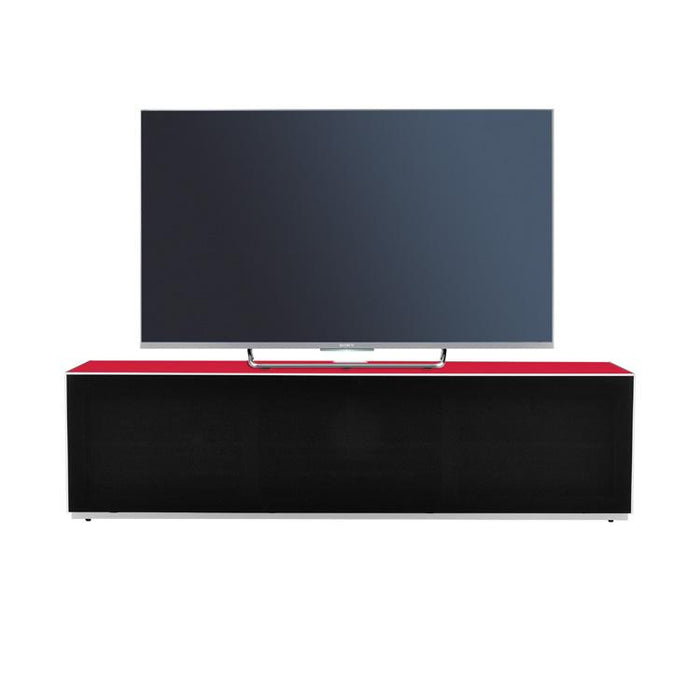 Optimum Project 1600F Cardinal Red Enclosed TV Cabinet with Fabric Front