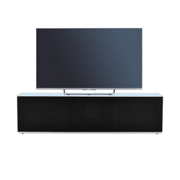Optimum Project 1600F Fjord Blue Enclosed TV Cabinet with Fabric Front