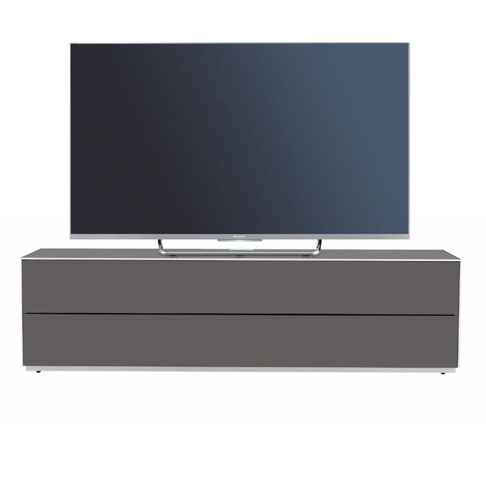 Optimum Project PRO1600GG Graphite Grey Enclosed TV Cabinet