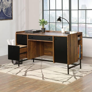 Teknik Hampstead Park Executive Walnut Office Desk (5420731)