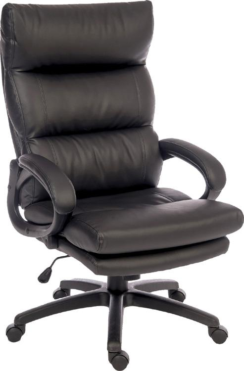 Teknik Luxe Executive Black Office Chair (6913)