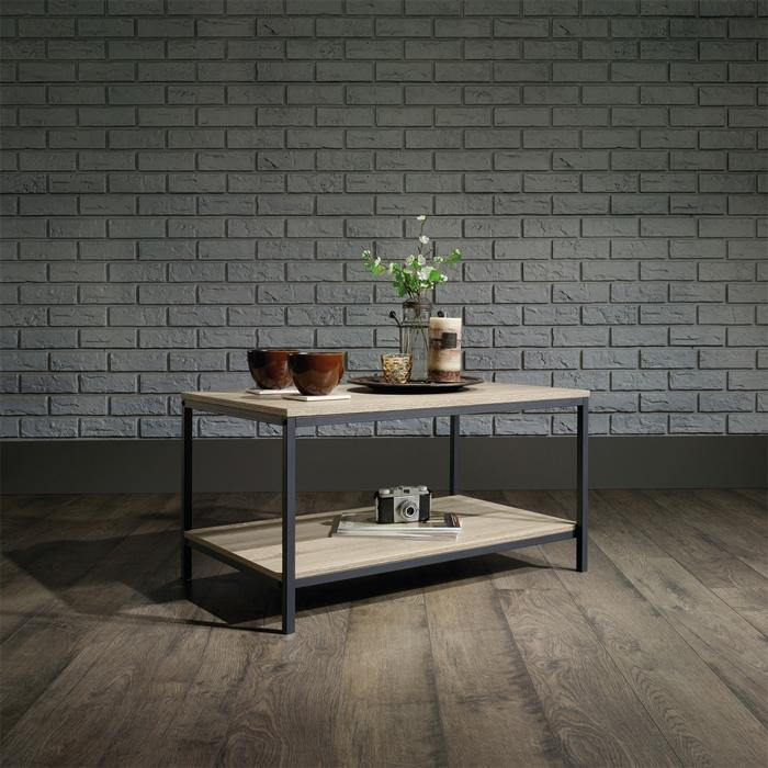 Teknik Industrial Style Coffee Table in Charter Oak (5420275)