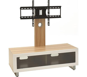 TTAP Munich Oak Cantilever TV Stand with Bracket (TVS1001)