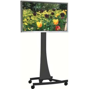 Unicol Axia AX15T Elegant High Level Display TV Trolley with Universal Mount for Screens up to 57 inch