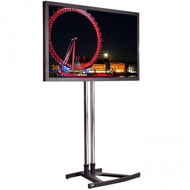 Unicol VS1000 Trade / Exhibition TV Stand for screens up to 55 inch