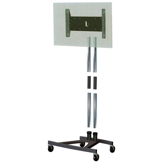 Unicol VSC1 Collapsible TV Trolley for Trade Shows and Exhibitions for Screens up to 57""
