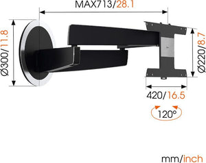 Vogels DesignMount NEXT 7346 TV Wall Bracket for LG OLED TV's