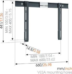 VOGELS THIN 505 Ultra Thin TV Wall Mount for screens up to 65 inch