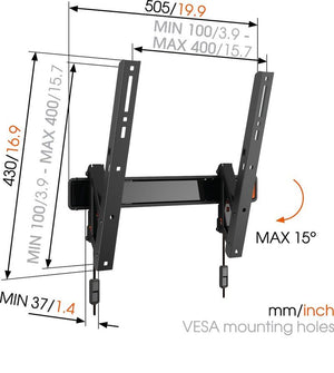 Vogels WALL 2215 LED/LCD/Plasma wall mount with Tilt