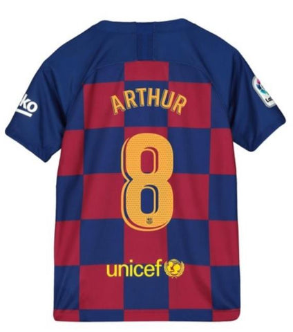 super popular ad596 23cf7 Arthur Melo Barcelona Youth 19/20 Home Jersey