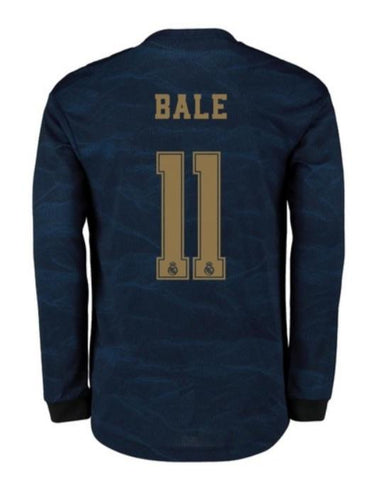 wholesale dealer 0b5a6 2ef00 Gareth Bale Real Madrid Long Sleeve 19/20 Away Jersey