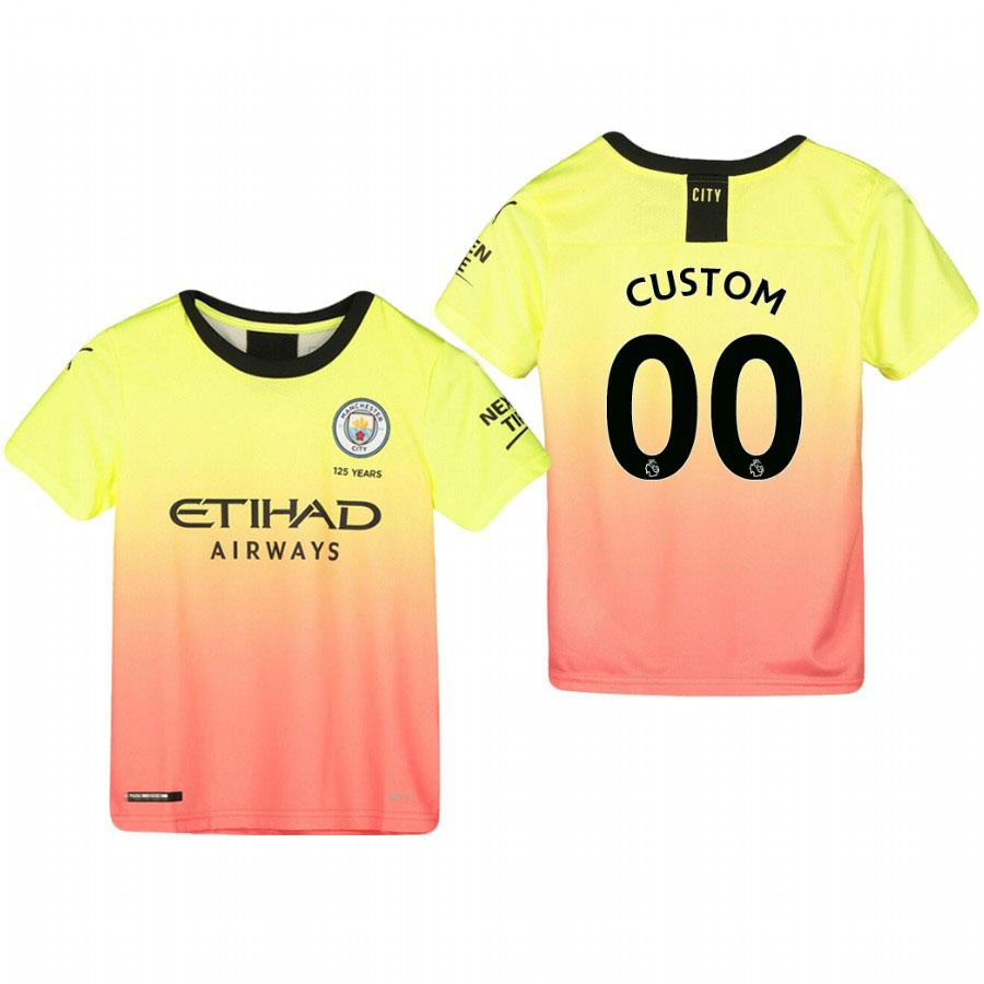 the best attitude 436ec c7dc1 Manchester City Custom Youth 19/20 Third Jersey