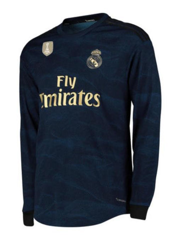 low priced 6961a 580fc Marcelo Vieira Real Madrid Long Sleeve 19/20 Away Jersey