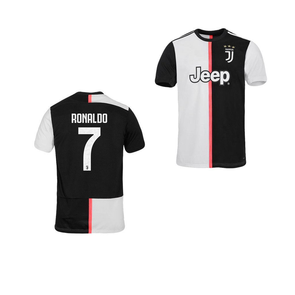 huge discount fd002 e3754 Cristiano Ronaldo Juventus 19/20 Youth Home Jersey