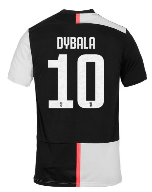 cheap for discount 6981a 40142 Paulo Dybala Juventus 19/20 Home Jersey