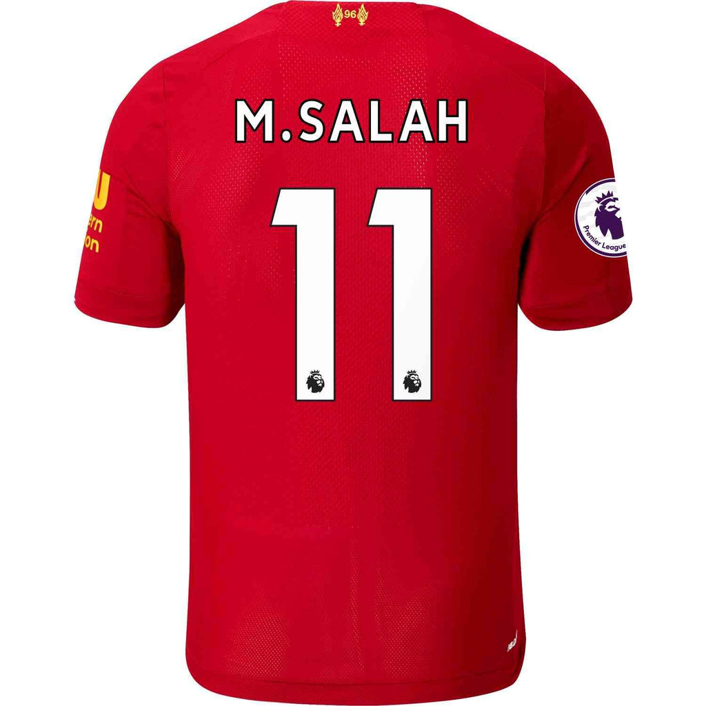 more photos 66ceb c486d Mohamed Salah Liverpool 19/20 Youth Home Jersey