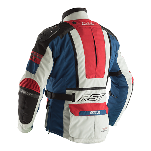 RST ADVENTURE 3 TEXTILE JACKET [ICE/BLUE/RED] (4512522272828)