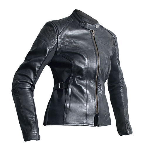 KATE LADIES LEATHER JACKET [BLACK] (4492829392956)