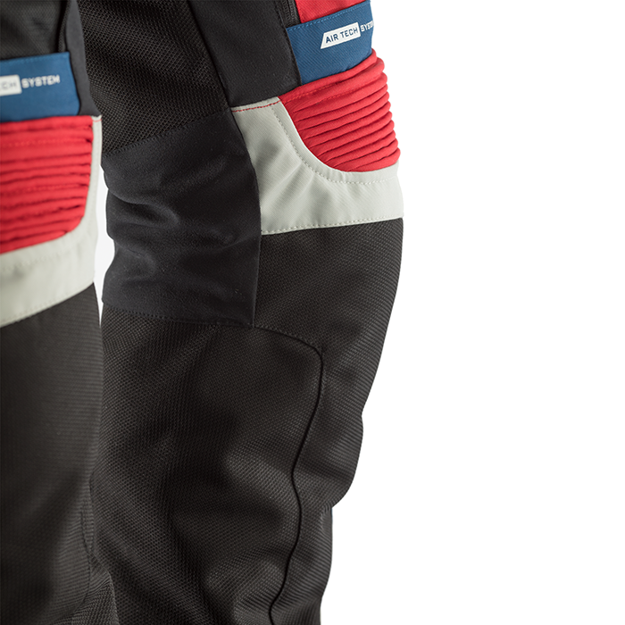 RST ADVENTURE 3 TEXTILE PANT [ICE/BLUE/RED] (4512526762044)