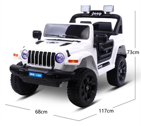 12V Kids Electric Ride On Jeep Car Toy