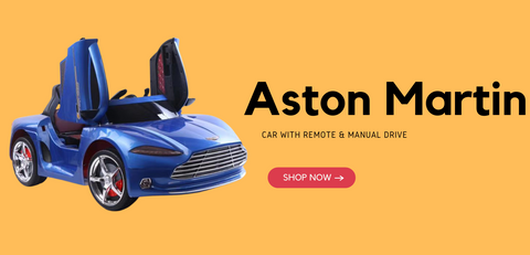 Aston Martin Kids Ride on Battery Operated Car