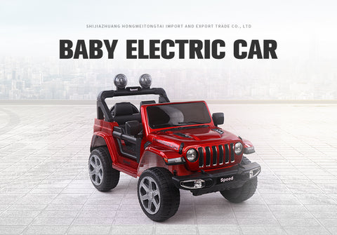 Speed Ride on Jeep 12V For Kids Battery Operated