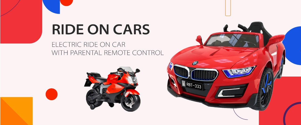 Get a Latest Collection Of Battery Operated Ride on Car , Ride On Bike , Battery Operated Ride on Jeep , Battery Operted Toys , Kids Car , Kids bikes , Parenting Gifts , Baby Toys in india , Kids Cars in india.
