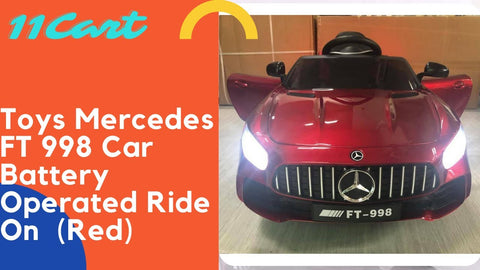 Mercedes ft998 Car Battery Operated Ride On 12V With Remote Control
