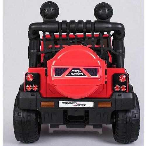 Courage - Kids Electric Battery Ride on Jeep Car 12v - Twin 2 Seater-11Cart