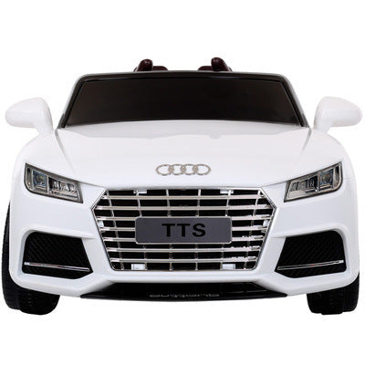 Battery Operated Ride on Car Audi Tts For Baby With Remote And Manual Drive