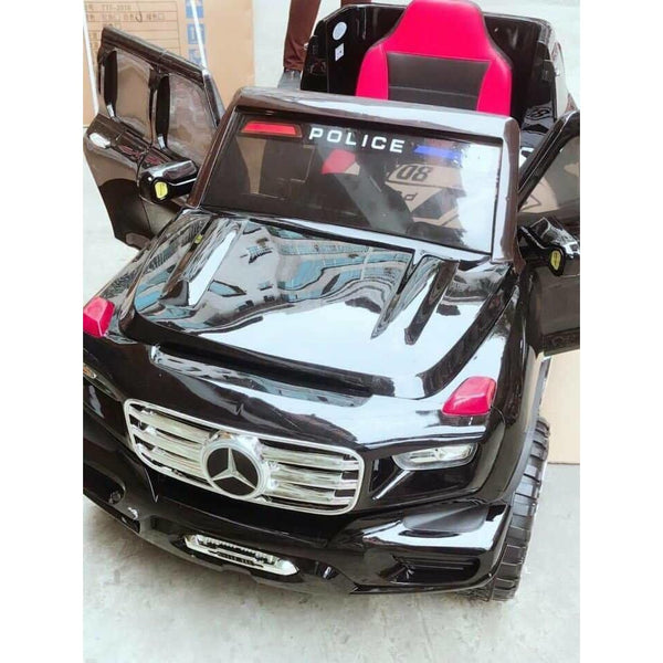 Kids Car Police 4 Motors-11Cart