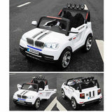 Ride on Bmw Car With Rubber Tyre-11Cart