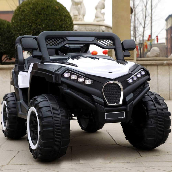 12V Battery Operated Electric Toy Car for Kids with Remote Control and Swing