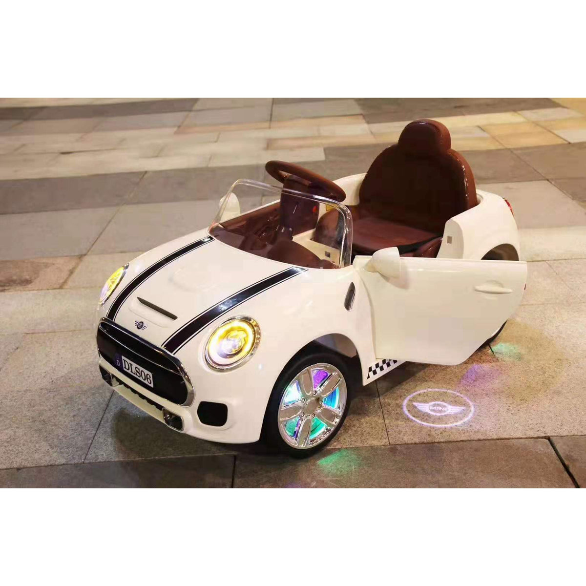 Children Kids Electric Ride On Mini Cooper Car With