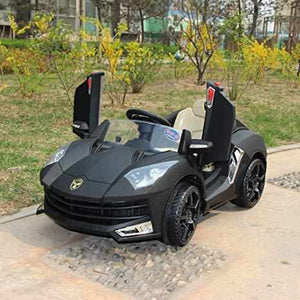 Lamborghini Child Electric Baby Ride on Car-Ride on Cars-11Cart-Black-11Cart