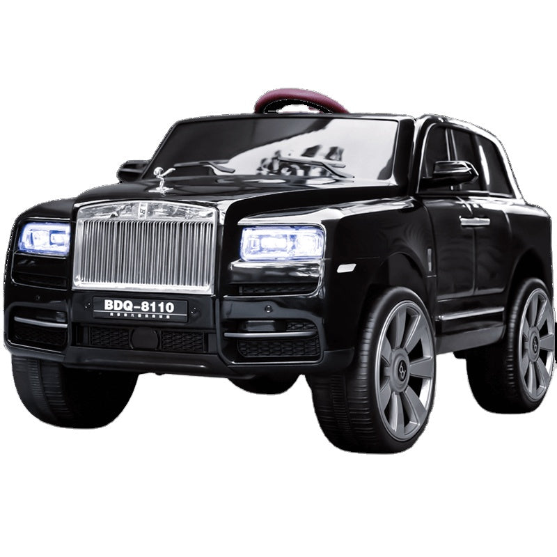 Rolls Royce 12V Kids Car Rechargeable Battery operated ride on car BDQ-8110 Black