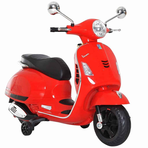 Battery Operated Ride on Vespa Scooter is Suitable for Kids of age 2 to 6 years