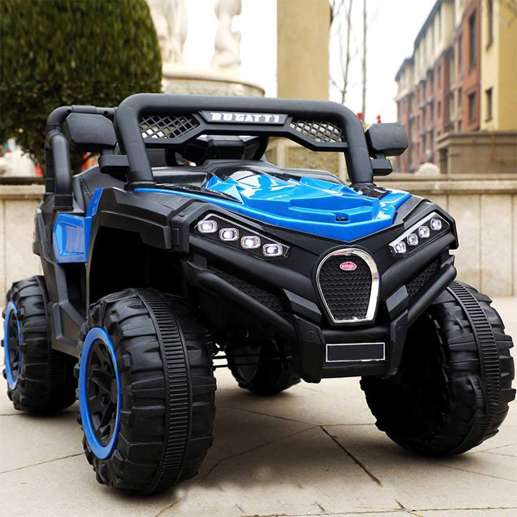 Kids 12V Battery Operated Ride on Jeep with Music, Lights, Spring Suspension
