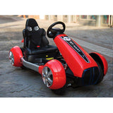 GT Kart Style Motorcycle for Kids-Ride on Bike-11Cart-Red-11Cart