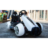 GT Kart Style Motorcycle for Kids-Ride on Bike-11Cart-White-11Cart