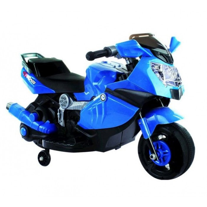 Battery Operated Ride on BMW Kids Bike - Blue