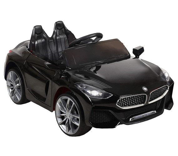Kids Electric Car Battery Operated BMW Z4 Ride On Car For Kids With Remote Control And Manual Drive Black