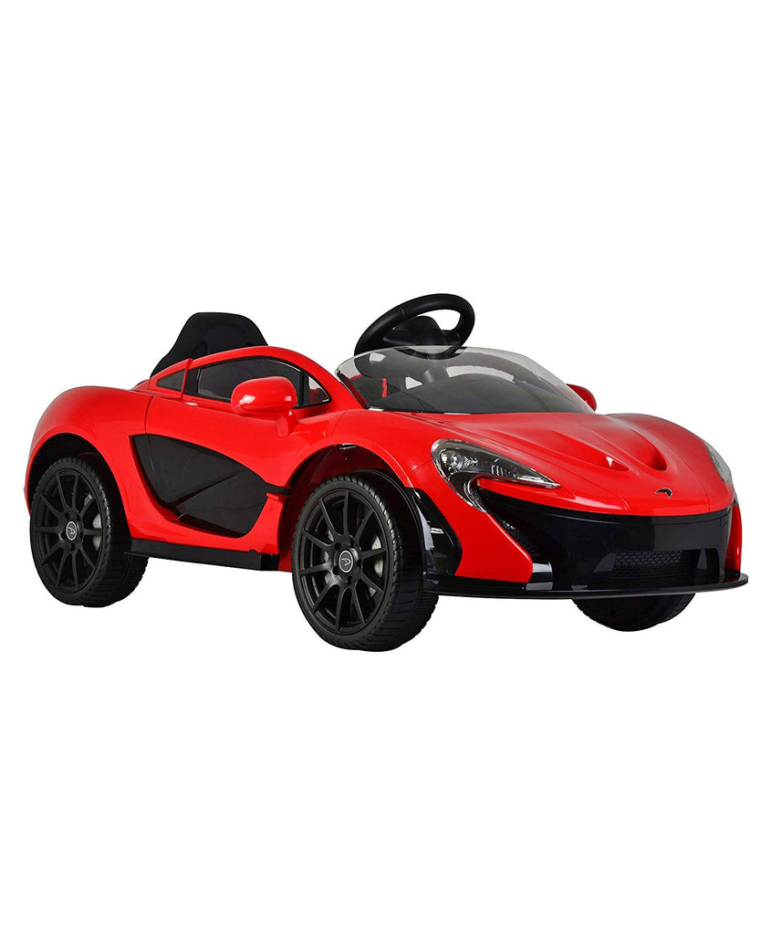 Licensed McLaren P1 12V Battery Powered Ride On Kids Car Remote Control Red