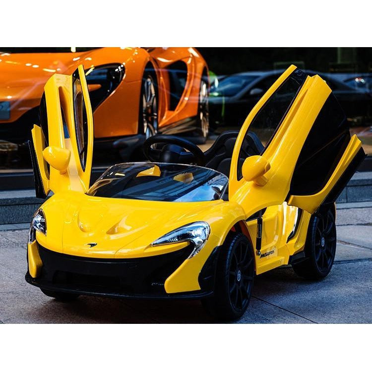 4dc790cfd43f McLaren P1 Battery Powered Ride On Kids Car Remote 12V-Ride on Cars-11Cart  ...