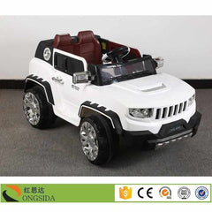 Battery Operated Ride-on Jeep with Four Motor, Heavy Duty Battery and R/C-11Cart