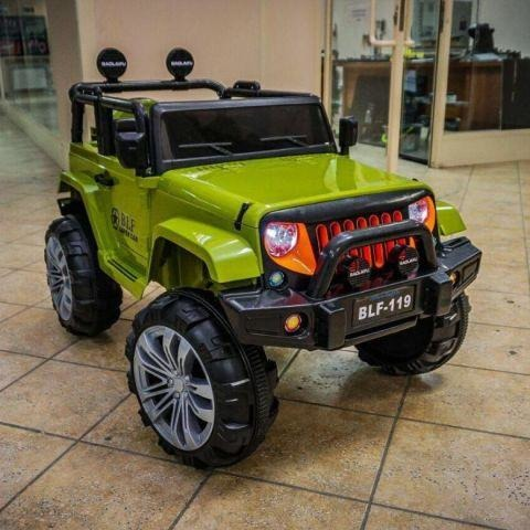 12V Ride on Jeep Green-11Cart