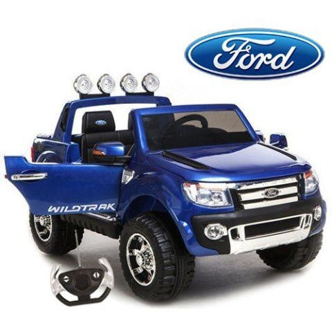 Ford Ranger Blue Children car For Kids-11Cart