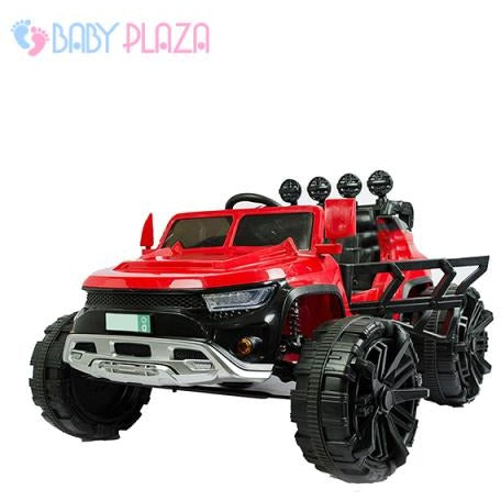 Ride on bagi style for kids,12 volt with RC, Red-11Cart