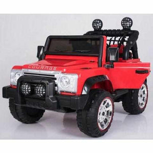 Courage - Kids Electric Battery Ride on Jeep Car 12v - Twin 2 Seater-Ride on Cars-11Cart-11Cart